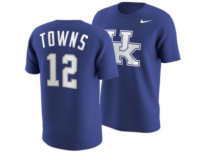 Kentucky Wildcats Karl-Anthony Towns Nike NCAA Men's Basketball Future Stars Replica T-Shirts
