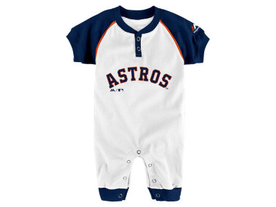 Houston Astros Outerstuff MLB Newborn Game Time Coverall
