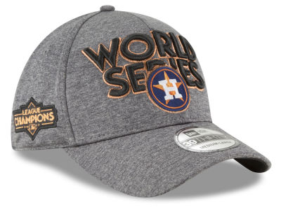 Houston Astros New Era 2017 MLB League Champion Series Locker Room 39THIRTY Cap