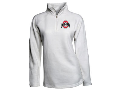 Ohio State Buckeyes J America NCAA Women's Fleece Quarter Zip Pullover