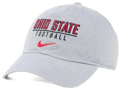 best service 324ab 68db0 Ohio State Buckeyes Nike NCAA Campus Sport Adjustable Cap
