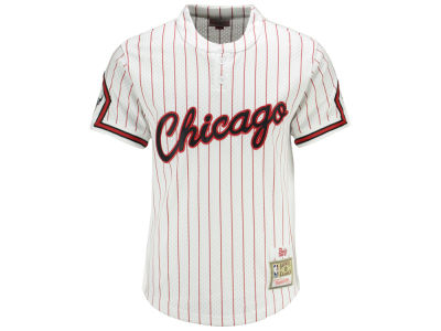 Chicago Bulls Mitchell & Ness NBA Men's Striped Mesh Jersey