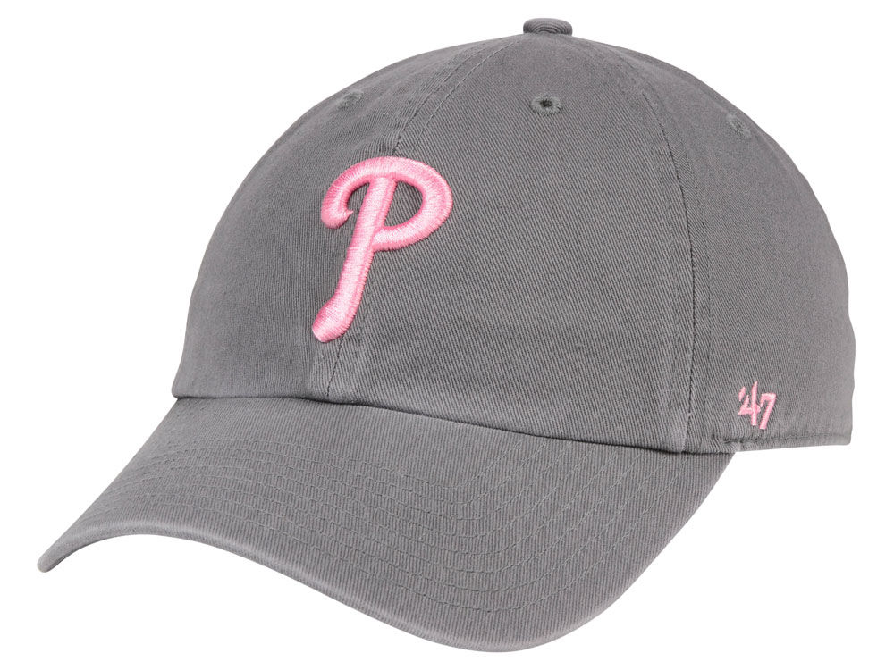 purchase cheap ab4af 11050 ... phillies 47 mlb dark gray pink 47 clean up cap 67d93 ea9f2 real shop mlb  hats philadelphia phillies 47 womens whiplash clean up adjustable hat red  ...