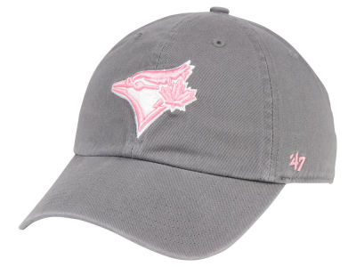 Toronto Blue Jays '47 MLB Dark Gray Pink '47 CLEAN UP Cap