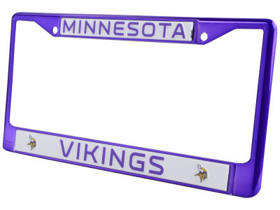 Minnesota Vikings Chrome Frame