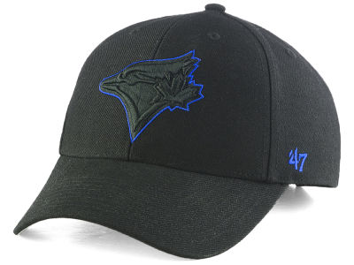 Toronto Blue Jays '47 MLB Black Team Color '47 MVP Cap