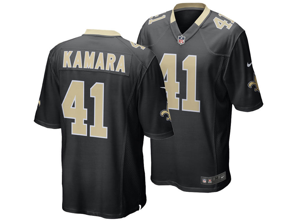 New Orleans Saints Alvin Kamara Nike NFL Men s Game Jersey  da7c9e727