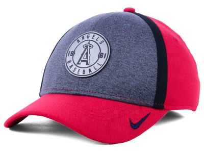 Los Angeles Angels Nike MLB Team Color Reflective Swooshflex Cap