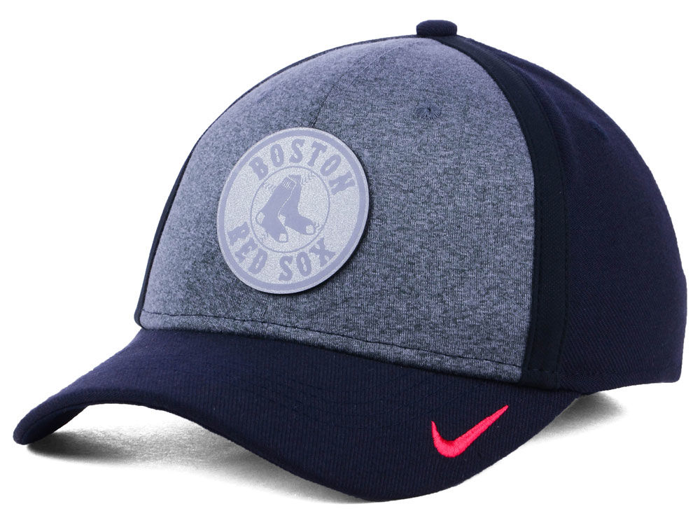 7f9616a4511 netherlands boston red sox nike mlb team color reflective swooshflex cap  b9588 43a65