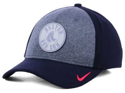 Boston Red Sox Nike MLB Team Color Reflective Swooshflex Cap