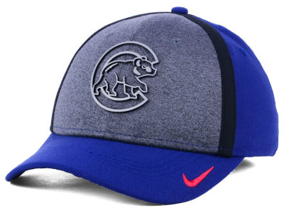 Chicago Cubs Nike MLB Team Color Reflective Swooshflex Cap
