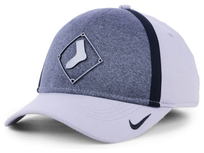 Chicago White Sox Nike MLB Team Color Reflective Swooshflex Cap ef278d5a8cb5