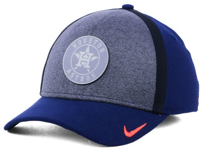 Houston Astros Nike MLB Team Color Reflective Swooshflex Cap