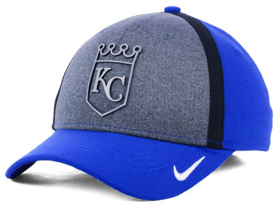 Kansas City Royals Nike MLB Team Color Reflective Swooshflex Cap