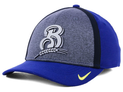 Milwaukee Brewers Nike MLB Team Color Reflective Swooshflex Cap