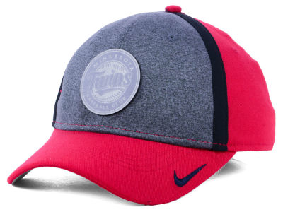 Minnesota Twins Nike MLB Team Color Reflective Swooshflex Cap