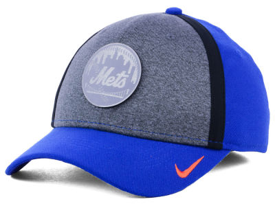New York Mets Nike MLB Team Color Reflective Swooshflex Cap