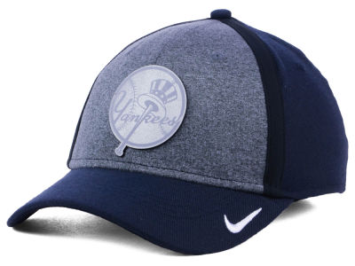 New York Yankees Nike MLB Team Color Reflective Swooshflex Cap