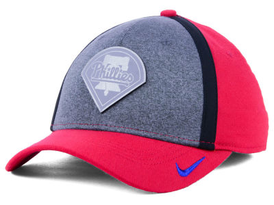 Philadelphia Phillies Nike MLB Team Color Reflective Swooshflex Cap