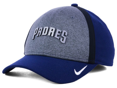 San Diego Padres Nike MLB Team Color Reflective Swooshflex Cap