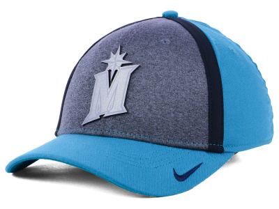 Seattle Mariners Nike MLB Team Color Reflective Swooshflex Cap