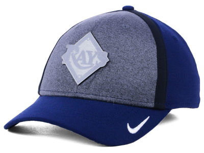Tampa Bay Rays Nike MLB Team Color Reflective Swooshflex Cap