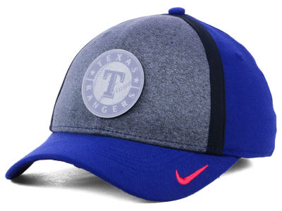 Texas Rangers Nike MLB Team Color Reflective Swooshflex Cap