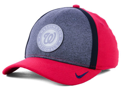 Washington Nationals Nike MLB Team Color Reflective Swooshflex Cap