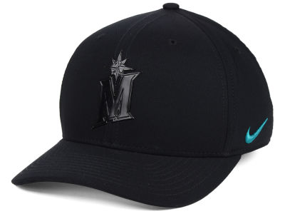 Seattle Mariners Nike MLB Gloss Swooshflex Cap