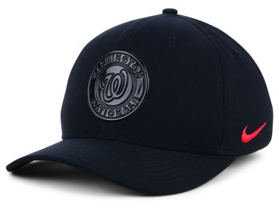 Washington Nationals Nike MLB Gloss Swooshflex Cap