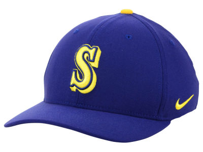 detailed look 30eeb 2e043 ... inexpensive seattle mariners nike mlb classic swooshflex cap c2fcc 91acc
