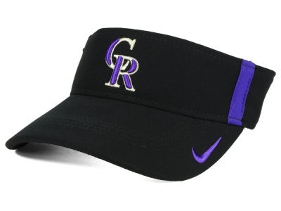 Colorado Rockies Nike MLB Aero Visor