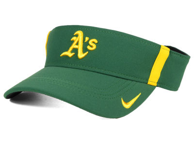 2167610be74 Oakland Athletics Nike MLB Aero Visor