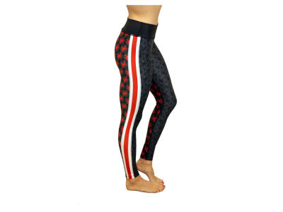 Ohio State Buckeyes NCAA Women's Bend Active Buckeye Leaf Leggings