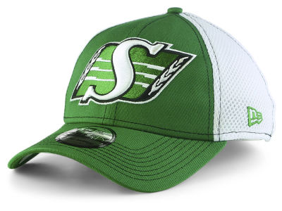 Saskatchewan Roughriders New Era CFL Mega Team Neo 39THIRTY Cap