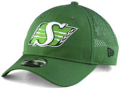 Saskatchewan Roughriders New Era CFL Performance Pivot 9FORTY Cap