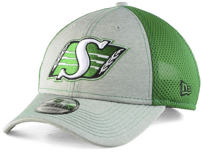 Saskatchewan Roughriders New Era CFL Shadow Turn 2 Adjustable 9FORTY Cap