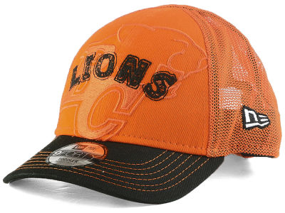 BC Lions New Era CFL Toddler 2 Tone Stitcher 9FORTY Cap