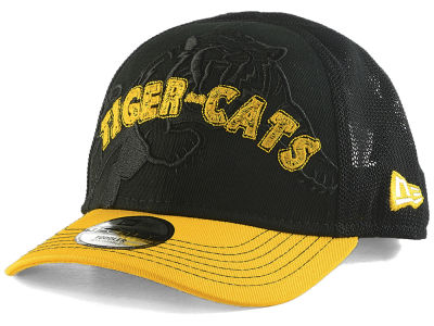 Hamilton Tiger-Cats New Era CFL Toddler 2 Tone Stitcher 9FORTY Cap
