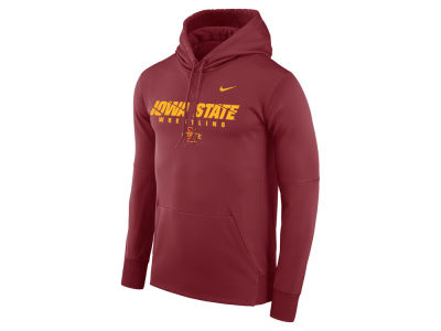 Iowa State Cyclones Nike NCAA Men's Legend Sport Hit Hooded Sweatshirt