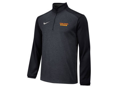Iowa State Cyclones Nike NCAA Men's Core Sport Hit Quarter Zip Pullover