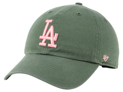 Los Angeles Dodgers '47 MLB Moss Pink '47 CLEAN UP Cap