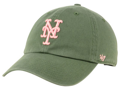 New York Mets '47 MLB Moss Pink '47 CLEAN UP Cap