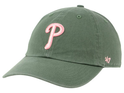 Philadelphia Phillies '47 MLB Moss Pink '47 CLEAN UP Cap