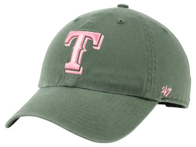 Texas Rangers '47 MLB Moss Pink '47 CLEAN UP Cap
