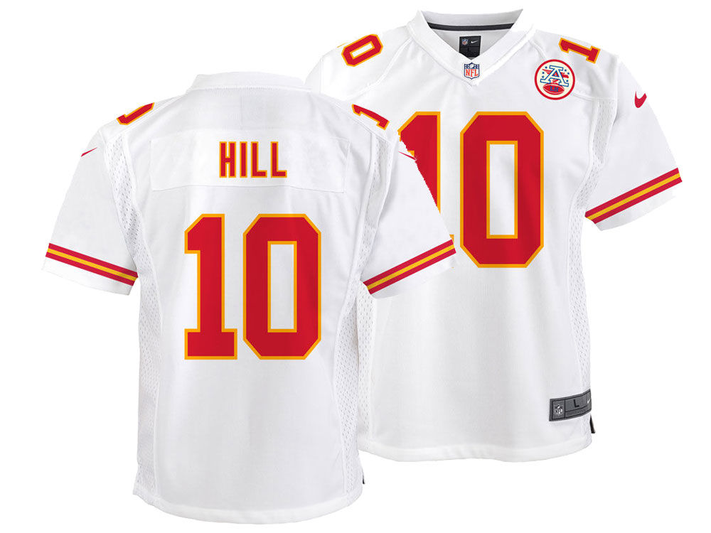 Kansas City Chiefs Tyreek Hill Nike NFL Youth Game Jersey  aca305d27