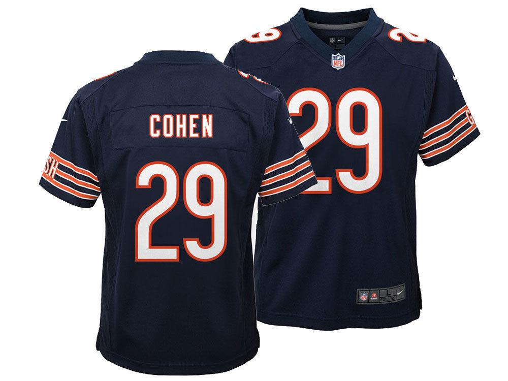 Chicago Bears Tarik Cohen Nike NFL Youth Game Jersey  2e992f312