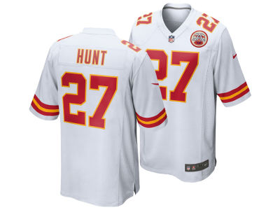 Kansas City Chiefs Kareem Hunt Nike NFL Men's Game Jersey