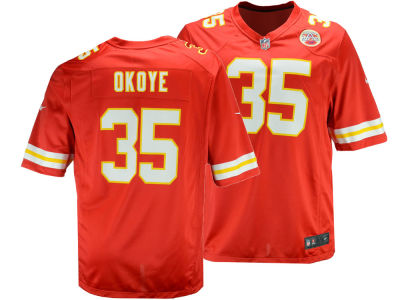 Kansas City Chiefs Christian Okoye Nike NFL Retired Game Jersey