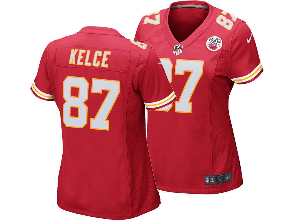 Kansas City Chiefs Travis Kelce Nike NFL Women s Game Jersey  5a01d4adf